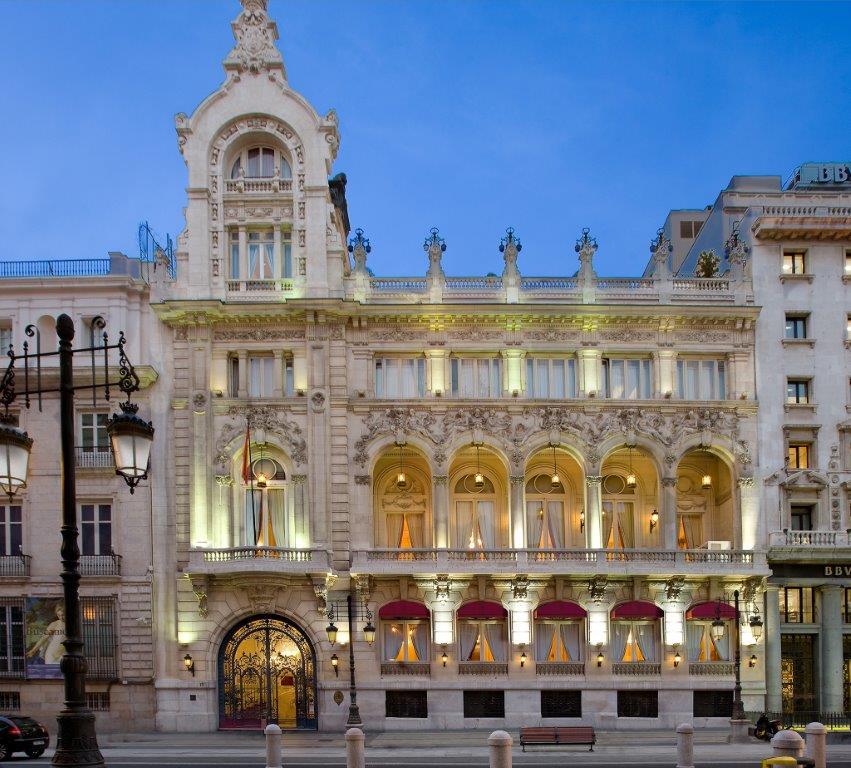 Fachada Casino. C/ Alcalá, 15 - Madrid